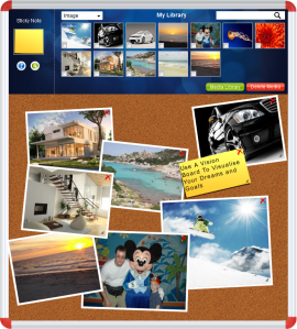 The Dream Timline Online Vision Board